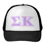 Sigma Kappa Lavender Letters Cap