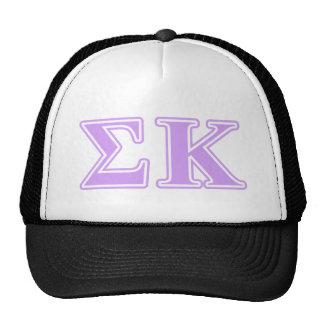 Sigma Kappa Lavender Letters Cap