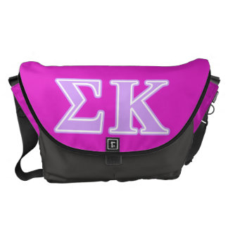 Sigma Kappa Lavender Letters Commuter Bags