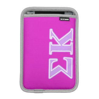 Sigma Kappa Lavender Letters iPad Mini Sleeve