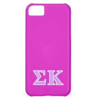 Sigma Kappa Lavender Letters iPhone 5C Case