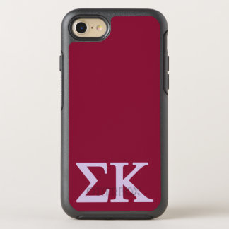 Sigma Kappa Lil Big Logo OtterBox Symmetry iPhone 8/7 Case