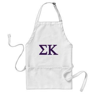 Sigma Kappa Lil Big Logo Standard Apron