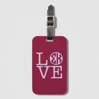 Sigma Kappa Love Luggage Tag