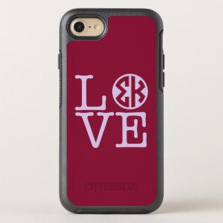 Sigma Kappa Love OtterBox Symmetry iPhone 8/7 Case