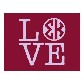 Sigma Kappa Love Postcard