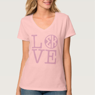 Sigma Kappa Love T-Shirt