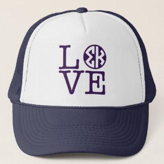 Sigma Kappa Love Trucker Hat