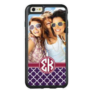 Sigma Kappa | Monogram and Photo OtterBox iPhone 6/6s Plus Case