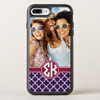 Sigma Kappa   Monogram and Photo OtterBox Symmetry iPhone 8 Plus/7 Plus Case