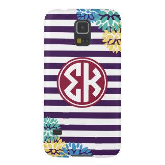 Sigma Kappa   Monogram Stripe Pattern Galaxy S5 Case