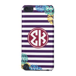 Sigma Kappa   Monogram Stripe Pattern iPod Touch 5G Case