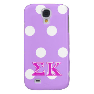 Sigma Kappa Pink Letters Galaxy S4 Case