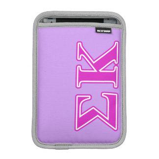 Sigma Kappa Pink Letters iPad Mini Sleeve
