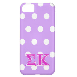 Sigma Kappa Pink Letters iPhone 5C Case