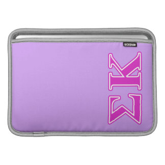 Sigma Kappa Pink Letters Sleeve For MacBook Air