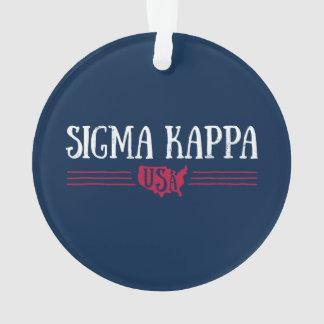 Sigma Kappa USA Ornament