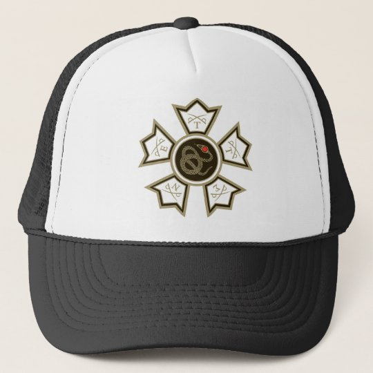 Sigma Nu Badge Cap