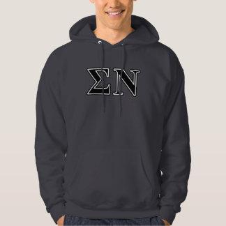 Sigma Nu Black Hoodie