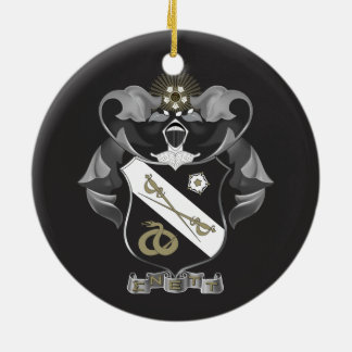 Sigma Nu Crest Christmas Ornament