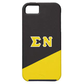 Sigma Nu | Greek Letters iPhone 5 Covers