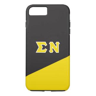 Sigma Nu   Greek Letters iPhone 8 Plus/7 Plus Case