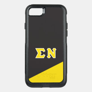 Sigma Nu | Greek Letters OtterBox Commuter iPhone 8/7 Case