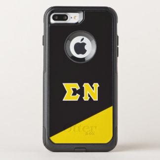 Sigma Nu | Greek Letters OtterBox Commuter iPhone 8 Plus/7 Plus Case