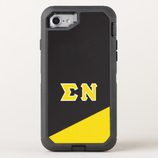 Sigma Nu | Greek Letters OtterBox Defender iPhone 8/7 Case