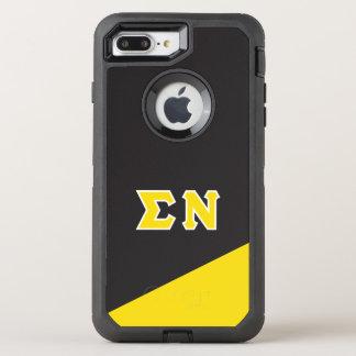 Sigma Nu | Greek Letters OtterBox Defender iPhone 8 Plus/7 Plus Case