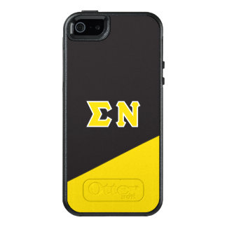 Sigma Nu | Greek Letters OtterBox iPhone 5/5s/SE Case