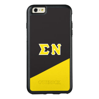 Sigma Nu | Greek Letters OtterBox iPhone 6/6s Plus Case