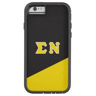 Sigma Nu | Greek Letters Tough Xtreme iPhone 6 Case