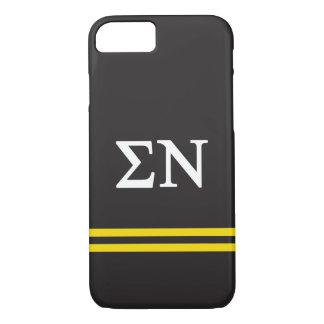 Sigma Nu | Sport Stripe iPhone 7 Case