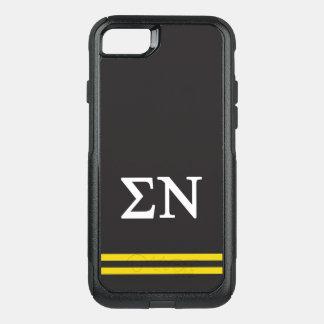 Sigma Nu | Sport Stripe OtterBox Commuter iPhone 7 Case