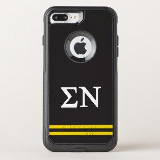 Sigma Nu | Sport Stripe OtterBox Commuter iPhone 8 Plus/7 Plus Case