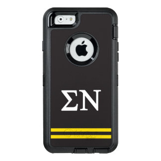 Sigma Nu | Sport Stripe OtterBox Defender iPhone Case