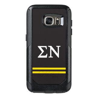 Sigma Nu | Sport Stripe OtterBox Samsung Galaxy S7 Case