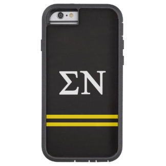 Sigma Nu | Sport Stripe Tough Xtreme iPhone 6 Case