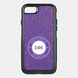 Sigma Phi Epsilon | Badge OtterBox Commuter iPhone 8/7 Case