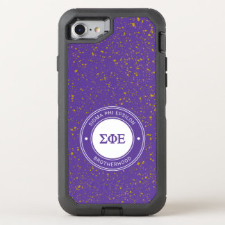 Sigma Phi Epsilon | Badge OtterBox Defender iPhone 8/7 Case