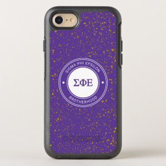 Sigma Phi Epsilon | Badge OtterBox Symmetry iPhone 8/7 Case