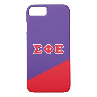 Sigma Phi Epsilon | Greek Letters iPhone 7 Case