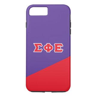 Sigma Phi Epsilon | Greek Letters iPhone 8 Plus/7 Plus Case