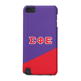 Sigma Phi Epsilon | Greek Letters iPod Touch (5th Generation) Cases