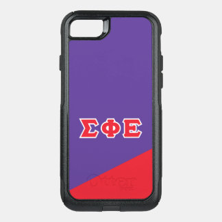 Sigma Phi Epsilon | Greek Letters OtterBox Commuter iPhone 8/7 Case