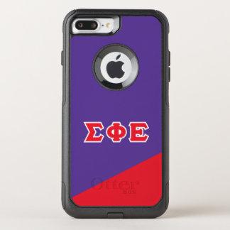 Sigma Phi Epsilon | Greek Letters OtterBox Commuter iPhone 8 Plus/7 Plus Case
