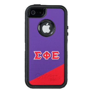 Sigma Phi Epsilon | Greek Letters OtterBox Defender iPhone Case