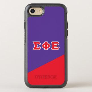 Sigma Phi Epsilon | Greek Letters OtterBox Symmetry iPhone 7 Case