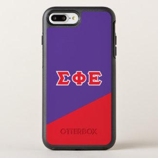 Sigma Phi Epsilon | Greek Letters OtterBox Symmetry iPhone 8 Plus/7 Plus Case